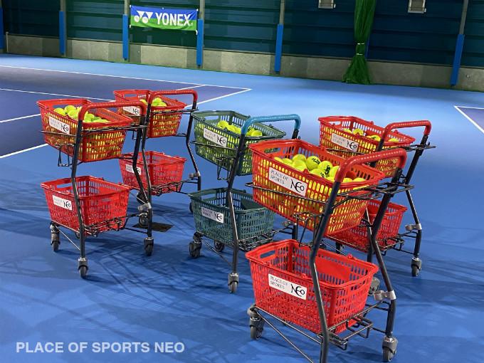 札幌レンタルテニスコート 音楽 有線放送 PLACEOFSPORTSNEO プレイスオブスポーツネオ 無料貸しボール 通年半年レンタル