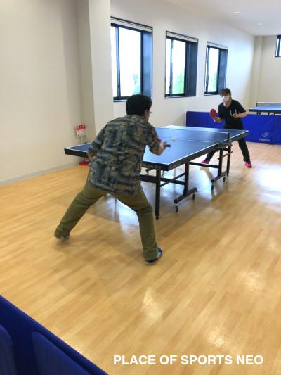 札幌テニスコートレンタル施設 プレイスオブスポーツネオ 卓球台レンタル