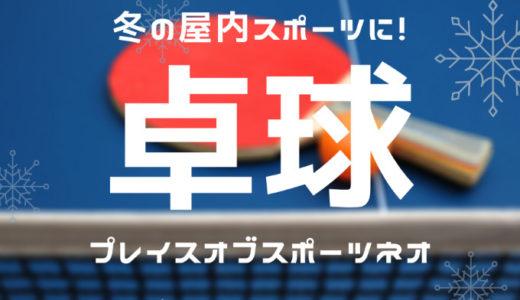 冬の屋内スポーツに卓球!札幌プレイスオブスポーツネオ2階で楽しめます