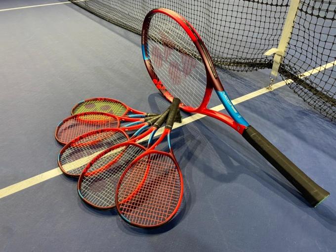 ヨネックス VCORE 試打 プレイスオブスポーツネオ 札幌レンタルテニスコート