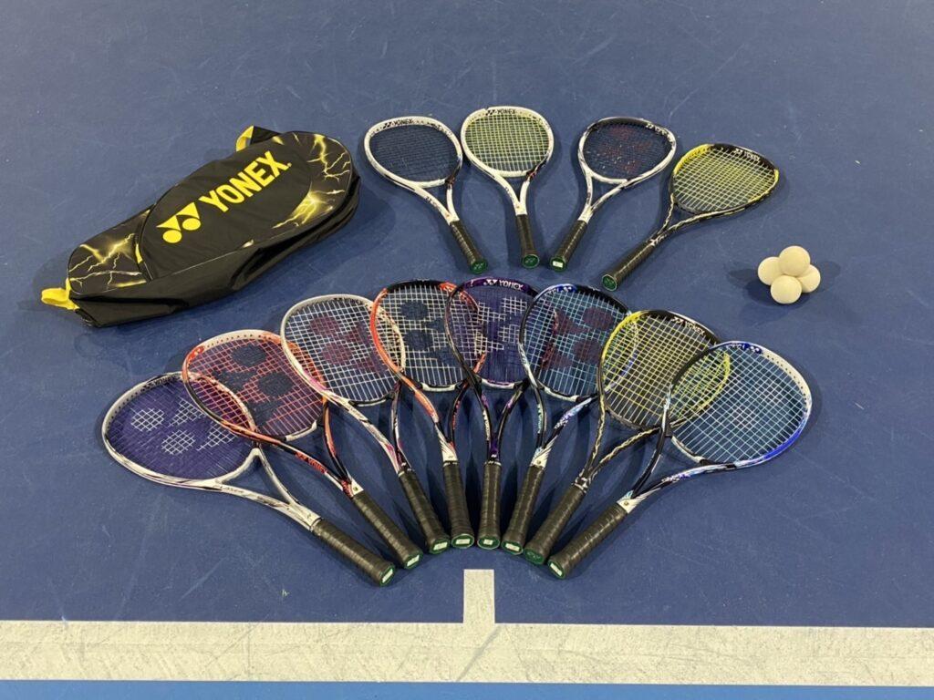 ソフトテニス 試打ラケット 札幌 レンタルテニスコート プレイスオブスポーツネオ